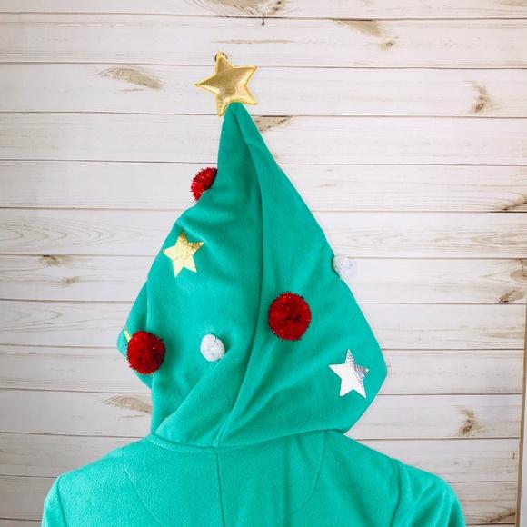 Christmas Tree Onesie.Nwt Wondershop Christmas Tree Adult Onesie Nwt